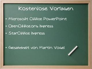 Powerpoint Vorlagen Und Impress Download Links Für